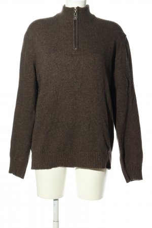 Ferre Sailor Sweater brown casual look