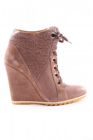 Fersengold Heel Sneakers brown casual look