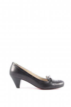 Fersengold Schlüpfschuhe schwarz Elegant