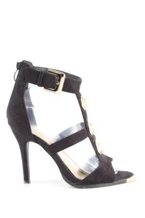 fersini High Heels schwarz Casual-Look