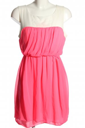 Fervente Etuikleid pink-wollweiß Elegant