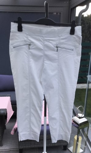 100% Fashion Pantalon 3/4 blanc