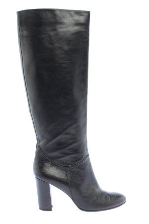 Festa Wide Calf Boots black business style