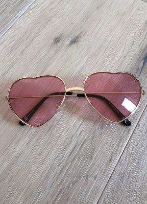 H&M Gafas Retro rosa