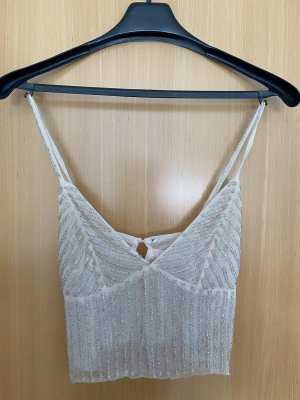 Festival Cropped Top Glitzer
