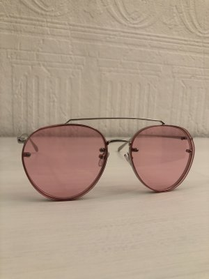 Asos Retro Glasses silver-colored-pink