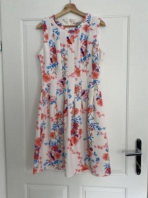 Festkleid - Blumenkleid - Kurzarm - Sommer