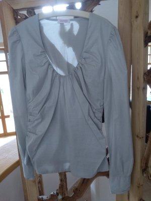 Orsay Blusa brillante gris claro