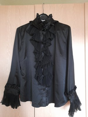 Amy Vermont Long Sleeve Blouse black polyester
