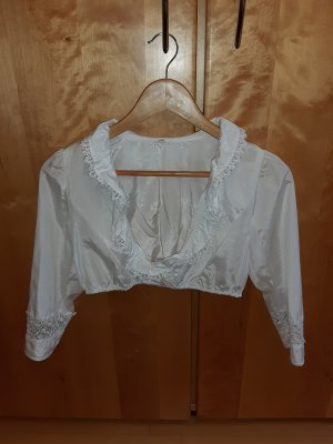 Angermaier Folkloristische blouse wit