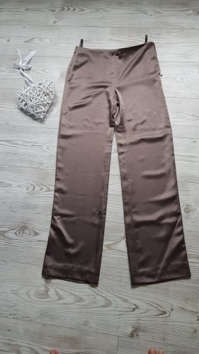 Vera Mont Pantalone a zampa d'elefante marrone-grigio Poliestere