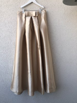 Chicwish Maxi Skirt gold-colored-beige