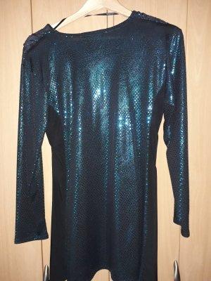 -8- Venice Tunique-blouse multicolore tissu mixte