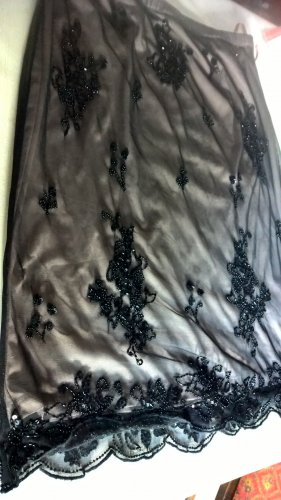 Amy Vermont Tulle Skirt black polyester
