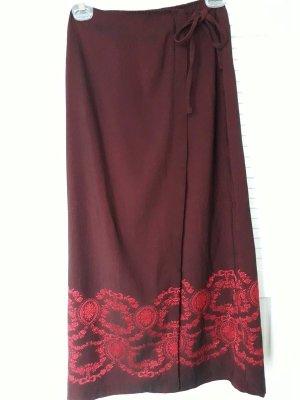 NO Respect Wraparound Skirt multicolored