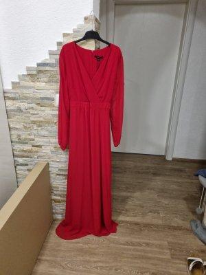 Comma Chiffon Dress red