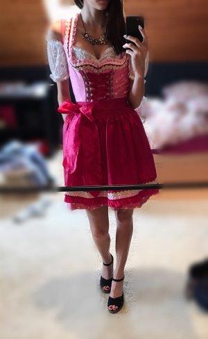Festliches Dirndl 'Anni' 50cm Pink rosa - Krüger Madl