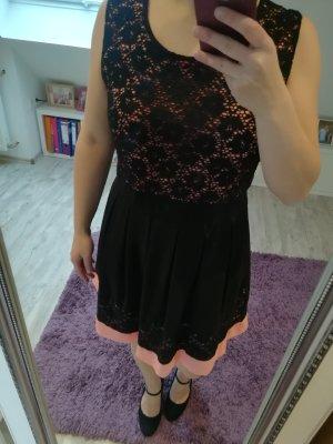 Apricot Evening Dress black-rose-gold-coloured