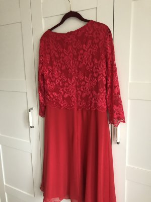 Vera Mont Chiffon Dress red