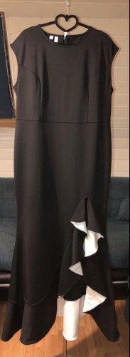 Festliches Kleid mit Volant- super Passform