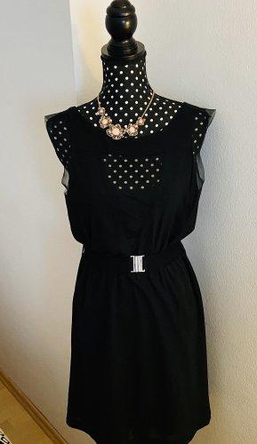 Festliches Kleid schwarz mit Rückenausschnitt