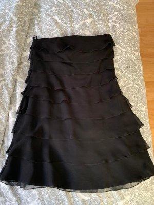 Festliches Kleid schwarz trägerlos