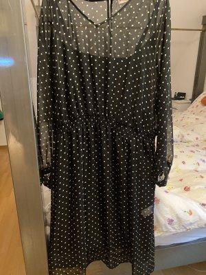 Festliches Kleid, transparent, mit Unterkleid,  einmal zu einer Hochzeit getragen .