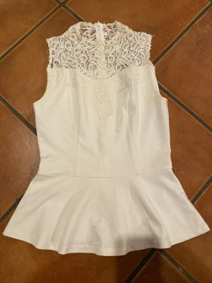 Vero Moda Frill Top white