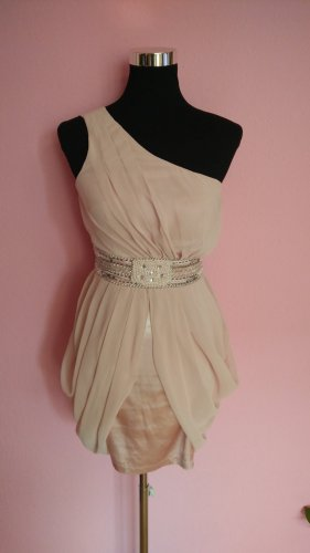 Festliches One-Sholder-Kleid in altrosa (Box 6)