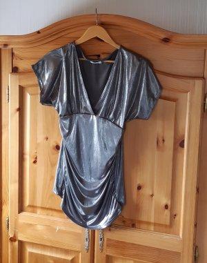 Orsay Połyskująca bluzka srebrny