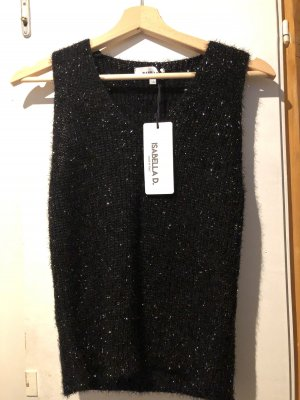 Isabella D. Knitted Top black