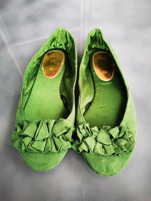 *Festpreis* Ballerinas, Grün (Box S 2)