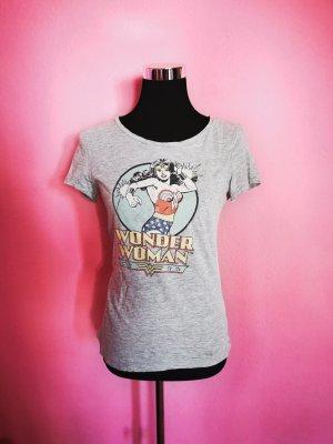 *Festpreis* T-Shirt, Wonder Woman, Grau, Druck (K1)