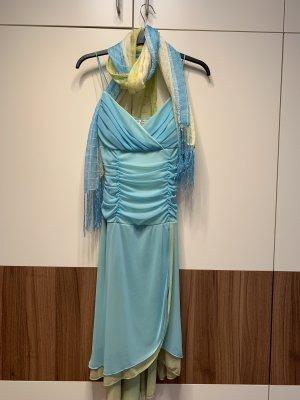 Festtagskleid Partykleid hellblau