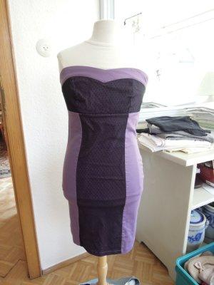 Sukienka gorsetowa fiolet
