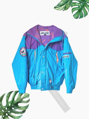 Vintage Bomber Jacket multicolored