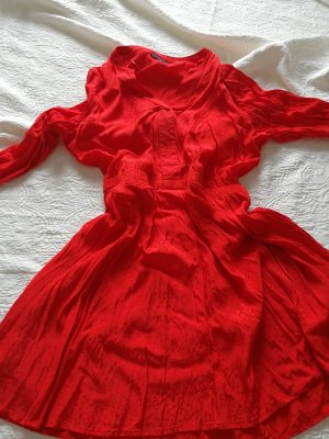 Yessica Premium Blouse Dress red