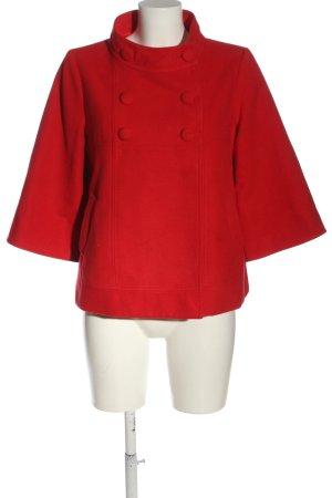 Fever Krótki płaszcz czerwony W stylu casual