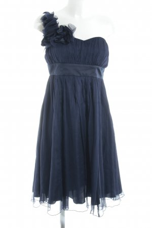 Fever london One-Shoulder-Kleid dunkelblau Elegant