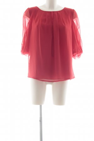 Fever london Schlupf-Bluse rot Casual-Look