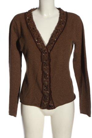FFC Kaszmirowy sweter brązowy W stylu casual