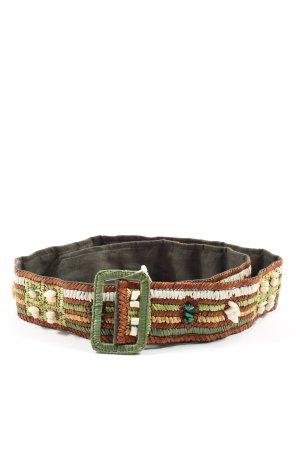 FFC Boucle de ceinture motif rayé style décontracté