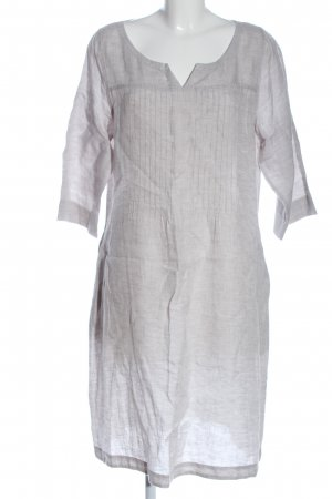 FFC Longsleeve Dress light grey flecked casual look