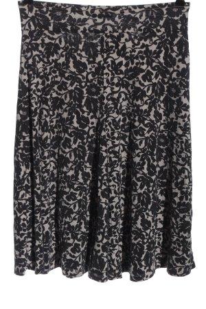 FFC Midi Skirt light grey-black allover print casual look