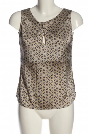 FFC Blusa in seta stampa integrale stile casual