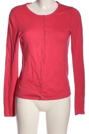 FFC Cardigan in maglia rosa stile casual