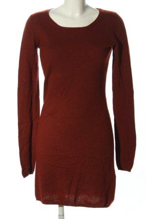 FFC Woolen Dress brown casual look