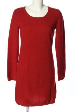 FFC Robe en laine rouge style d'affaires