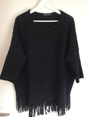 FFC Oversized Sweater black brown wool