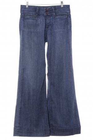 Fidelity Hoge taille jeans donkerblauw casual uitstraling